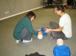St Mark James first aid and CPR re-certification courses